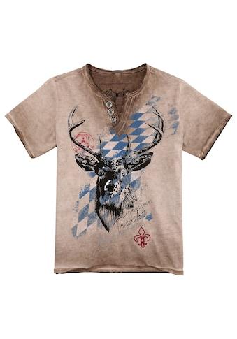 Hangowear Trachtenshirt Kinder im Used Look kaufen