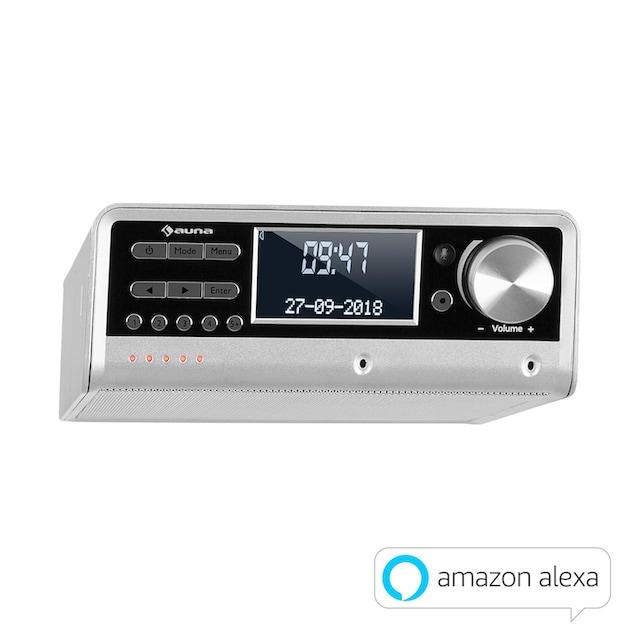 Auna Küchenradio Alexa-VoiceControl Spotify BT silber »Intelligence DAB+«