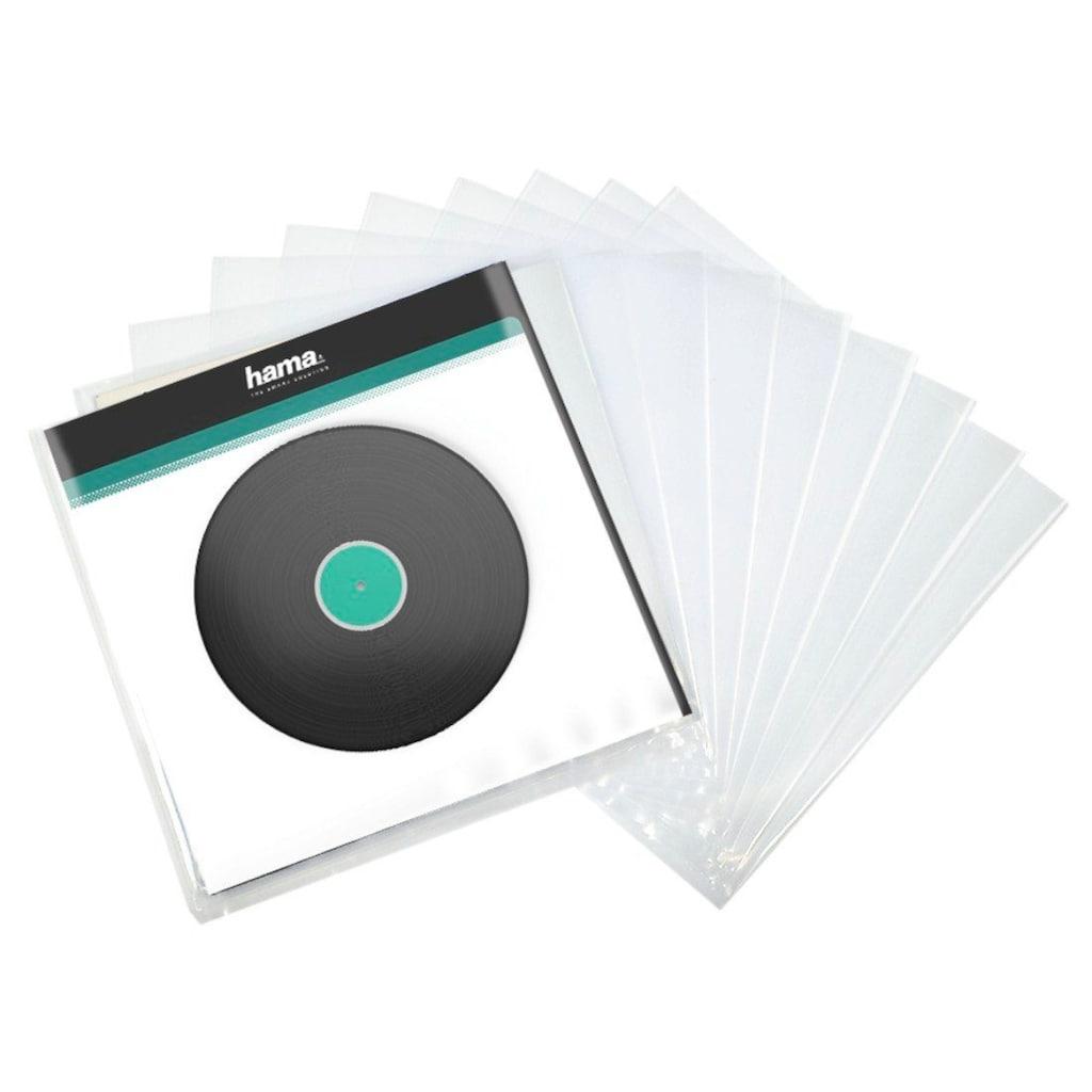 Hama LP-Außenhülle, Transparent, 10 Stück