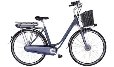 LLobe E-Bike »Black Motion 2.0, 15,6Ah«, 7 Gang, Shimano, Frontmotor 250 W, (mit... kaufen