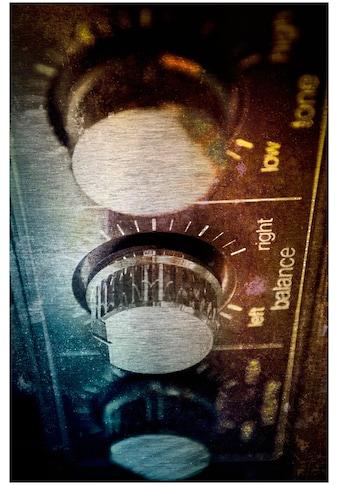 Art & Pleasure Metallbild »Amplifier« kaufen