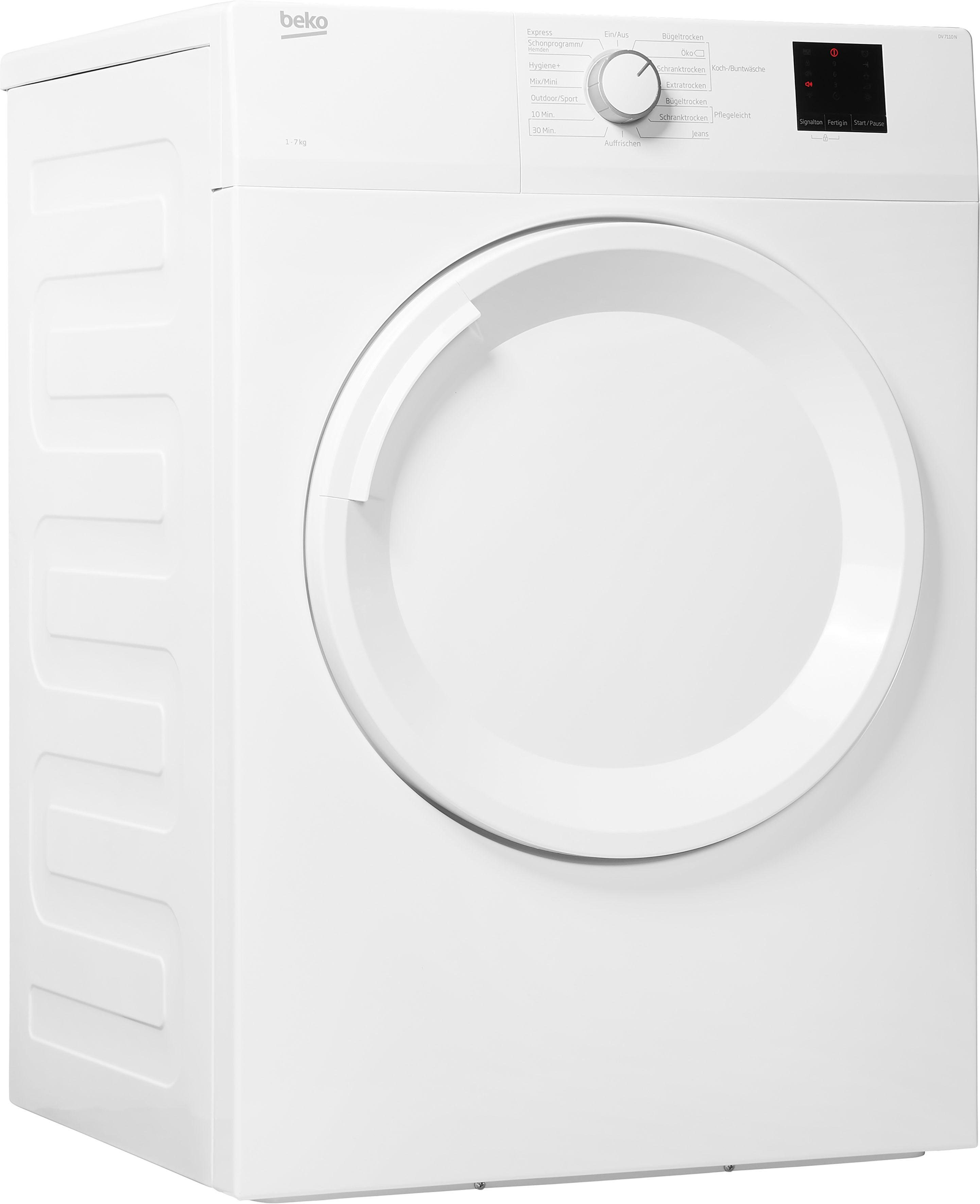 BEKO Ablufttrockner DV7110N, 7 kg   Bad > Waschmaschinen und Trockner > Ablufttrockner   Beko