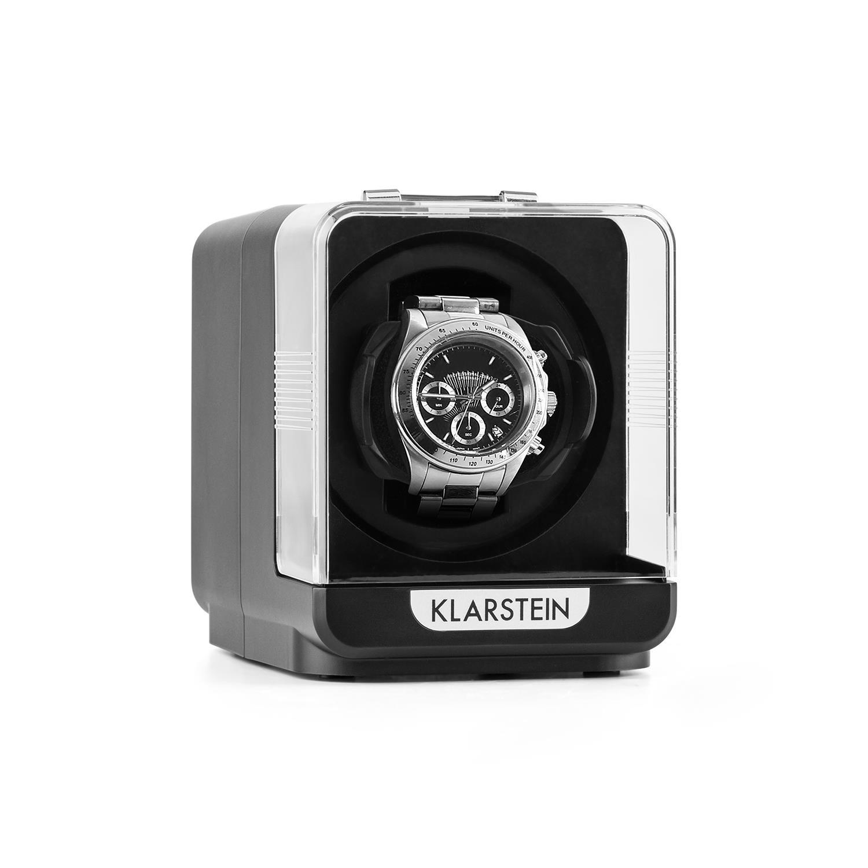 Klarstein Uhrenbeweger 1 Uhr 4 Modi schwarz »Eichendorff« | Uhren > Uhrenbeweger | Schwarz | KLARSTEIN