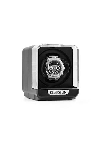 Klarstein Uhrenbeweger 1 Uhr 4 Modi schwarz »Eichendorff« kaufen
