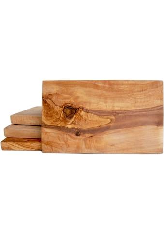 Olivenholz-erleben Frühstücksbrett, je Gr. 25 x 15 cm kaufen