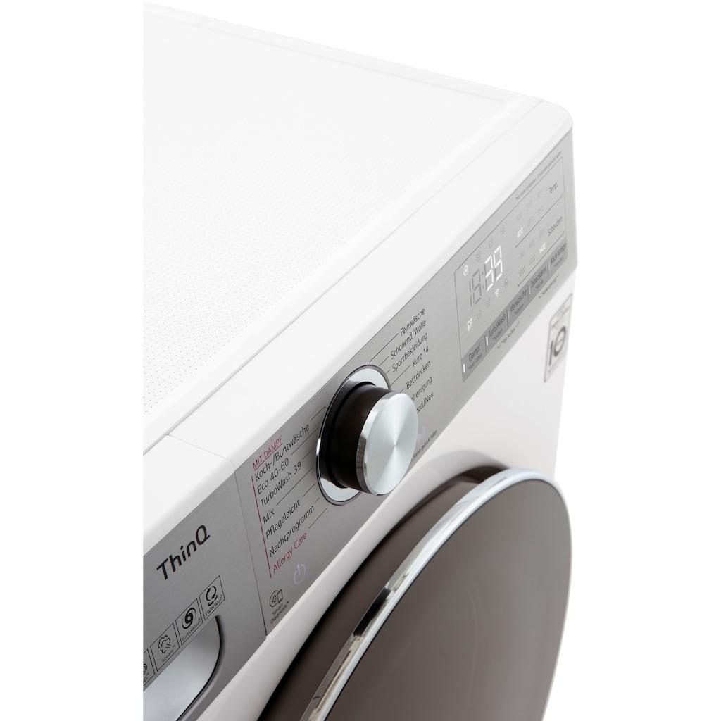 LG Waschmaschine »F4WV912P2«, F4WV912P2, 12 kg, 1400 U/min