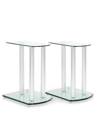 Auna Lautsprecherständer - Paar Glas Aluminium <10kg belastbar »LS - 46« kaufen