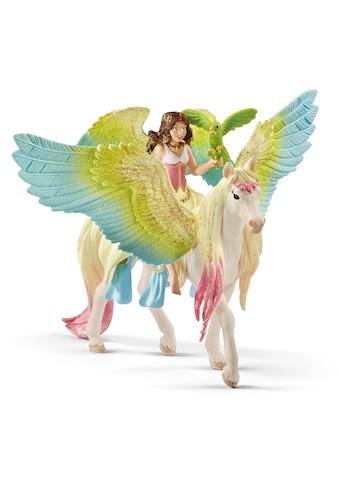 Schleich® Spielfigur »bayala, Surah mit Glitzer-Pegasus (70566)« kaufen