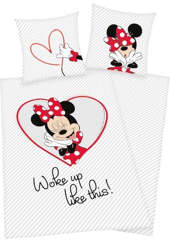 Walt Disney Kinderbettwäsche »Minnie Mouse«, mit tollem Wendemotiv kaufen