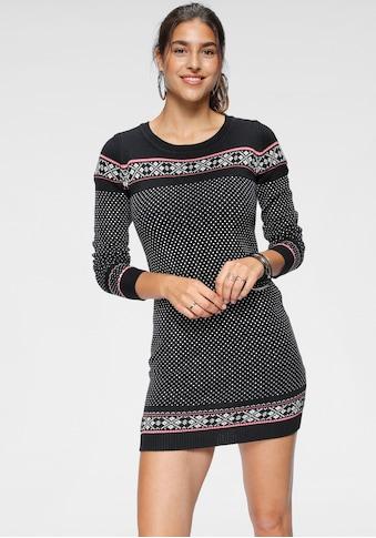 KangaROOS Strickkleid, mit Norweger-Muster kaufen