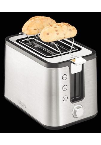 Krups Toaster »KH442«, 2 kurze Schlitze, für 2 Scheiben, 850 W kaufen