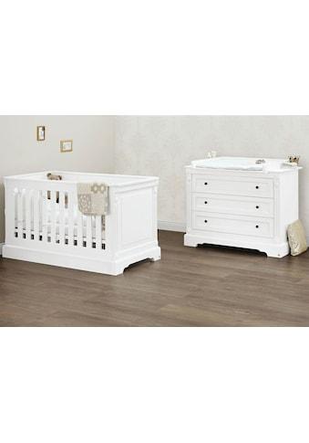 Pinolino® Babymöbel-Set »Emilia«, (Spar-Set, 2 St.), breit; mit Kinderbett und... kaufen
