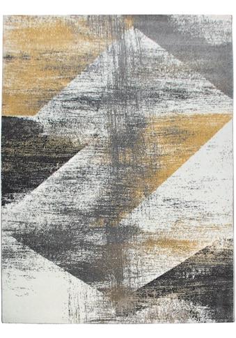 my home Teppich »Merova«, rechteckig, 17 mm Höhe, Vintage Design, Wohnzimmer kaufen