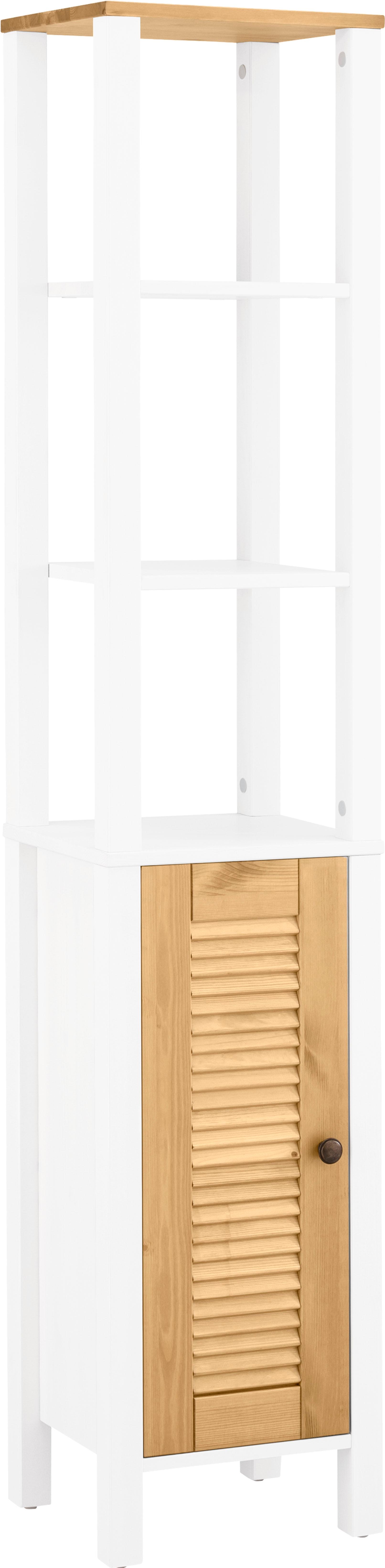 Home affaire Hochschrank »Ayanna«, aus Massivholz, Breite 33 cm günstig online kaufen