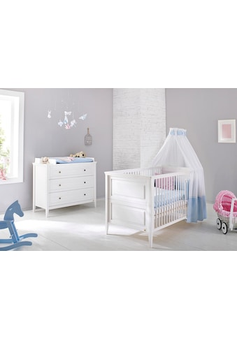 Pinolino® Babymöbel-Set »Smilla«, (Spar-Set, 2 St.), breit; mit Kinderbett und... kaufen