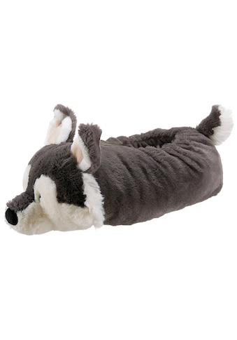 Nici Plüsch Hausschuhe »Husky Swante« kaufen