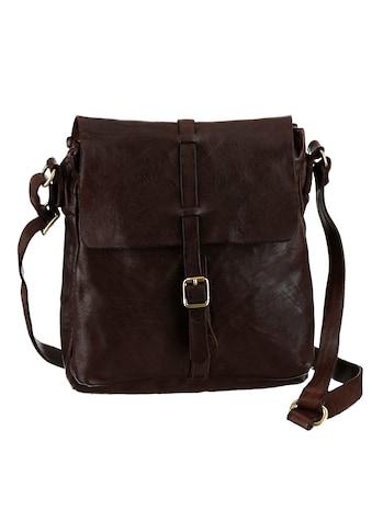 Campomaggi Umhängetasche »leather Bag«, aus hochwertigem Leder im leichten Used Look kaufen