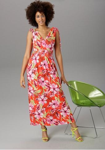 Aniston SELECTED Strandkleid, mit Wickel-Ausschnitt kaufen