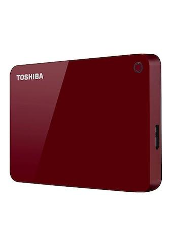 Toshiba »Canvio Advance 4TB Red« externe HDD - Festplatte 2,5 '' kaufen