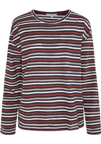 Pepe Jeans Langarmshirt »LEXI«, mit allover Ringeldessin kaufen