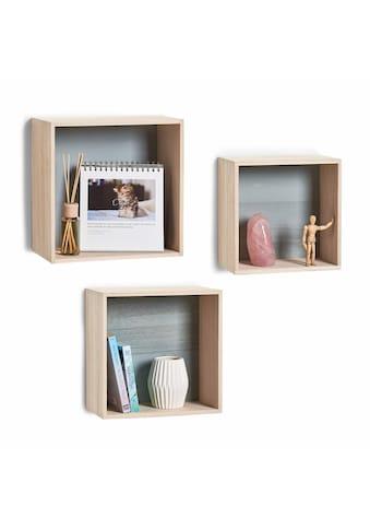 Zeller Present Regalwürfel »Cubes«, (Set, 3 St.) kaufen