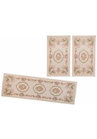 THEKO Bettumrandung »Flomi Floral«, Bettvorleger, Läufer-Set für das Schlafzimmer,... kaufen