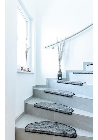 Stufenmatte, »Newport«, Andiamo, halbrund, Höhe 8,5 mm, maschinell getuftet kaufen