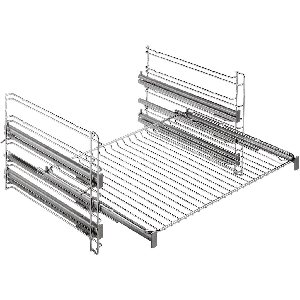 AEG Induktions Herd-Set »HE5346MM41«, EPE555220M, Pyrolyse-Selbstreinigung, (Set), mit Dampfback-Funktion