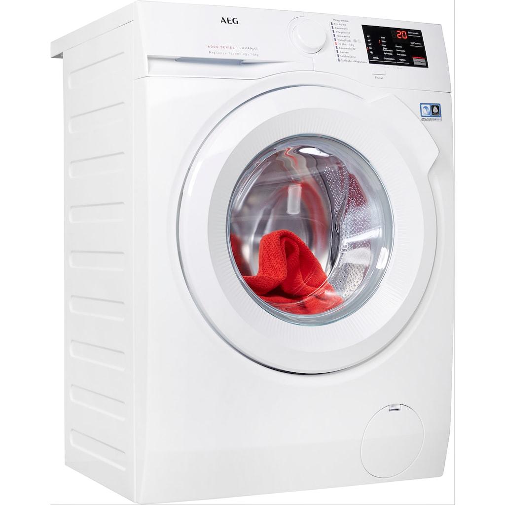 AEG Waschmaschine, L6FBA5480