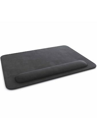 CSL Office Mauspad 28x20 cm mit Handgelenkauflage »Lederimitat Komfort Mousepad« kaufen