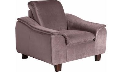 Max Winzer® Sessel »Alessio«, mit abgerundeter Rückenlehne kaufen
