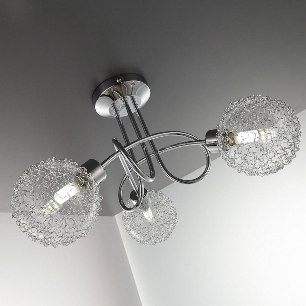 B.K.Licht LED Deckenspot »Lepus«, G9, Warmweiß, LED Deckenleuchte schwenkbare Spots Draht inkl. 3,5W 250lm G9 3.000K Deckenlampe