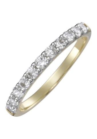 Firetti Verlobungsring »Vorsteckring, Gelbgol, 2 mm breit« kaufen