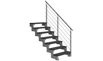 DOLLE Außentreppe »Gardentop«, für Geschosshöhen bis 154 cm, TRIMAX® - Stufen 80 cm kaufen