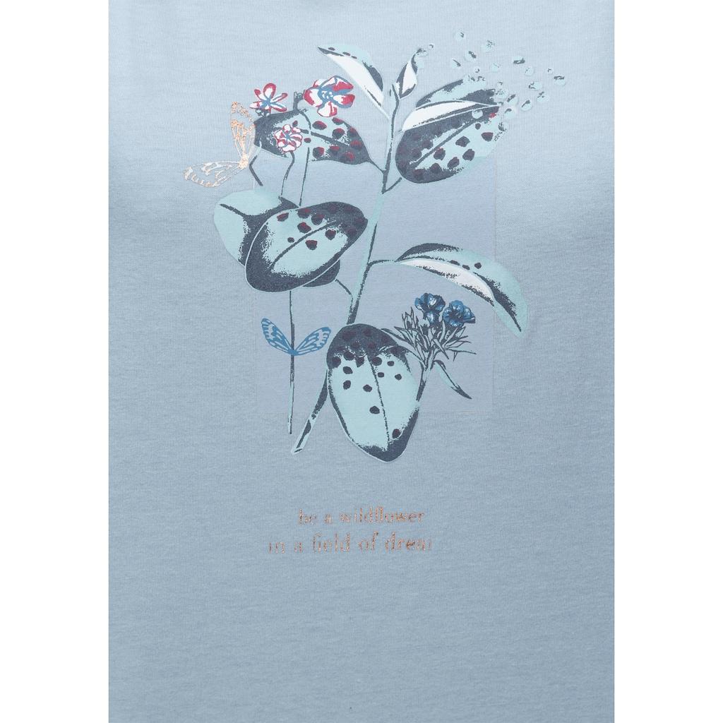 Triumph Nachthemd, mit floralen Frontdruck