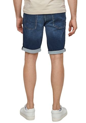 Q/S by s.Oliver Jeansshorts, in leichter used Optik kaufen