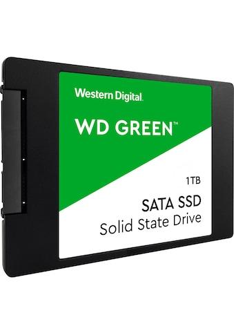Western Digital »WD Green 3D NAND SSD 1TB« SSD 2,5 '' kaufen