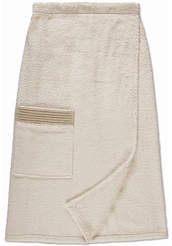 Möve Sarong »Wellness«, (1 St.), mit Druckknöpfen kaufen