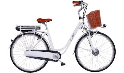 LLobe E-Bike »White Motion 2.0, 13,2Ah«, 7 Gang, Shimano, Frontmotor 250 W, (mit... kaufen