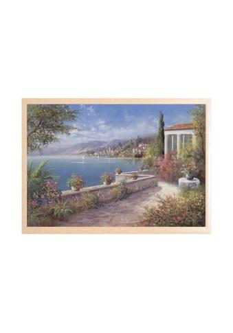 Home affaire Wandbild »Riviera di Levante«, 106/76 cm kaufen