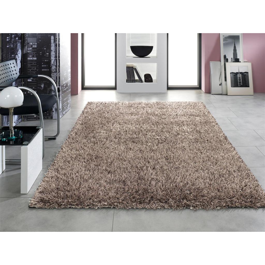 OCI DIE TEPPICHMARKE Hochflor-Teppich »Rosemary Luxury«, rechteckig, 48 mm Höhe, Besonders weich durch Microfaser