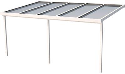 GUTTA Terrassendach »Premium«, BxT: 510x306 cm, Dach Polycarbonat bronce kaufen