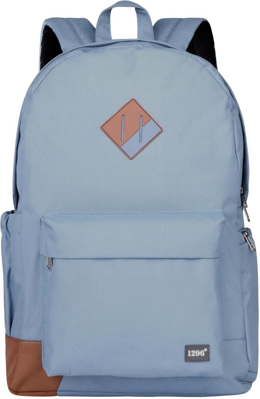 HAUPTSTADTKOFFER Rucksack mit Laptopfach, »blnbag U4« | Taschen > Rucksäcke > Sonstige Rucksäcke | Blau | HAUPTSTADTKOFFER