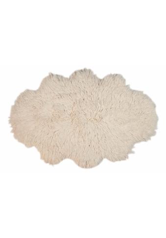 Wollteppich, »Flokos 2«, Theko Exklusiv, wolkenförmig, Höhe 62 mm, handgewebt kaufen
