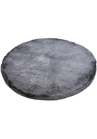carpetfine Hochflor-Teppich »Breeze«, rund, 45 mm Höhe, besonders weich mit leichtem... kaufen