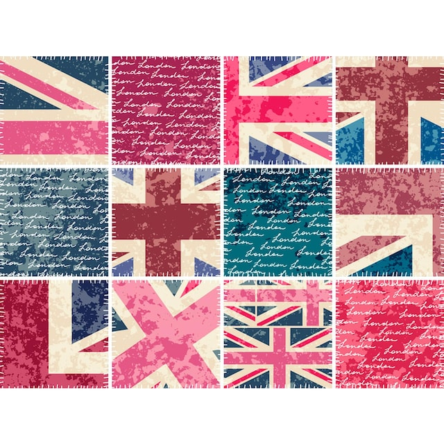 Fliesenaufkleber »England«