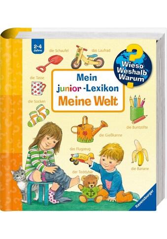 """Ravensburger Buch """"Mein junior - Lexikon: Meine Welt  -  Wieso? Weshalb? Warum?"""" kaufen"""
