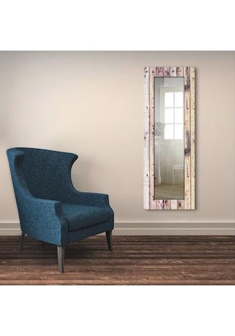 Artland Wandspiegel »Weißer Vintage-Hintergrund«, gerahmter Ganzkörperspiegel mit... kaufen