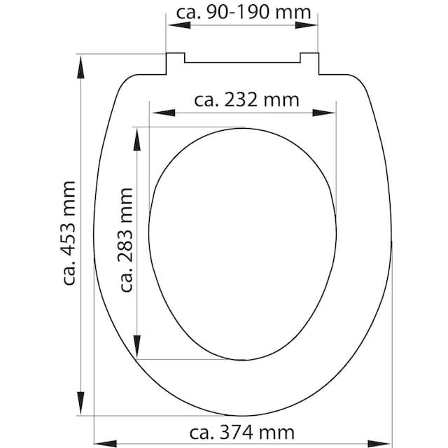 SCHÜTTE WC-Sitz »Jasmin«