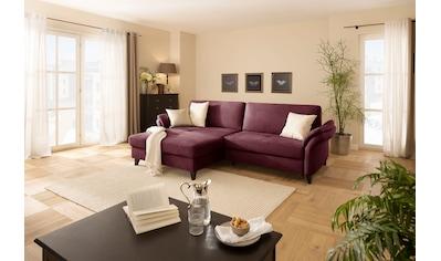 DELAVITA Ecksofa »Avatar«, auch mit Bettfunktion, Bettkasten und elektrischer... kaufen